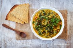 Mangold-Linsen-Currry Fast Good, Palak Paneer, Healthy Choices, Gluten Free Recipes, Food Styling, Sugar Free, Healthy Lifestyle, Veggies, Vegetarian