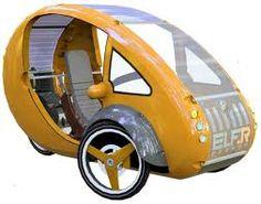 The Elf: Nuevo vehículo híbrido, energía solar y pedales