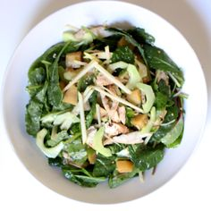 Power Lunch: Baby Kale Salad Loaded With Protein: Let's face it — kale may be a nutritious powerhouse, but its flavor is anything but timid.