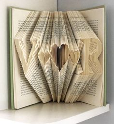 Folded Book Art Save The Date Original Wedding Gift