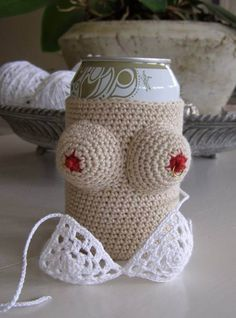 Summer Can Cooler - You Will Not Believe What's Under The Bikini
