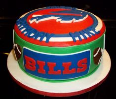 Buffalo Bills cake — Football / NFL