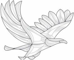 "Bevel Cluster Eagle by Exquisite. $25.99. Stained glass supplies - Clear Beveled Glass Pieces 11"" x 9-1/8"" when assembled 26 Pieces"