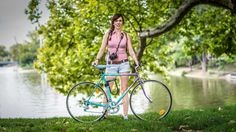 Nóri, 28, cyclist and dessert photographer, Budapest, HUNGARY, 2014 - photo by Krisztián Torma