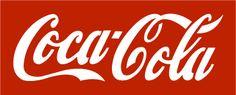Coca Cola logo stencil in a unique and original design.