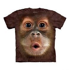 hahahaha-Big face animals Tshirts