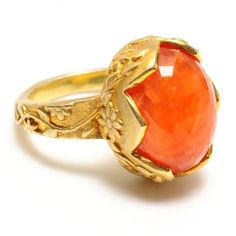 orange ring. beauty-ful