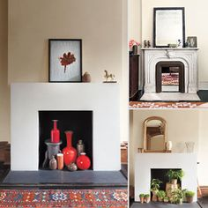 Dress Up an Unused Fireplace | Unused fireplace, Google images and ...