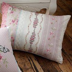 Pretty as a Picture Floral Stripe Cushion #Freemans