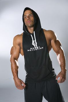 True Muscle Motivation in this Men's G-Cool Stringer Hoodie This light-weight, sleeveless hoodie is made from G-Cool technology fabric that helps keep you dry and comfortable by wicking away sweat. Du