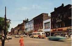 Park Avenue, Warren, Ohio, circa 1960's by Downtown Warren History, via Flickr