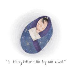 Harry Potter by fabulous Taryn Knight