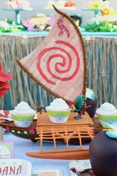 Moana Birthday Party Ideas | Photo 9 of 19