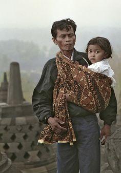 #Indonesia - Borobudur, central Java