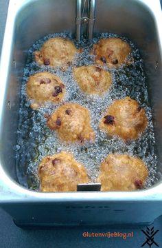 Het beste en gemakkelijkste Glutenvrije Oliebollen Recept Sin Gluten, Gluten Free Treats, Bread Recipes, Foodies, French Toast, Muffin, Lunch, Snacks, Dinner