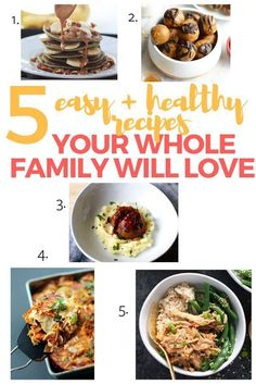 Easy recipes that are also healthy! Perfect simple recipes for the whole family for supper and dinner, lunch, breakfast, and snacks! Healthy Dinner Recipes, Breakfast Recipes, Snacks Recipes, Healthy Food, Smitten Kitchen Cookbook, Cooking Fails, Honey Garlic Chicken, New Cookbooks, Recipe For Mom