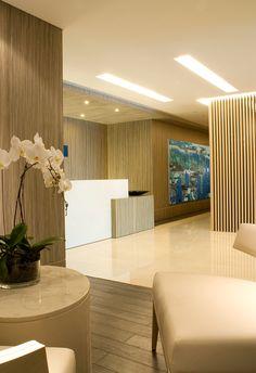 Reception area MOFO - Robarts Interiors and Architecture