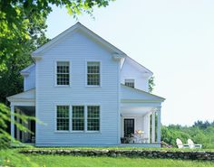 Sarah Taylor - farmhouse - exterior - burlington - Connor Homes
