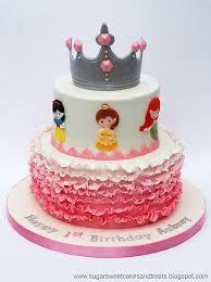 Resultado de imagen para pastel de princesas
