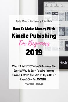 "How To Make Money On Kindle kindle publishing passive income make money on kindle how to make moneyRead More ""How To Make Money On Kindle"" How To Start A Blog, How To Make Money, How To Get, Writing A Book Outline, Sell Your Books, Early Retirement, Be Your Own Boss, Money Management, Passive Income"