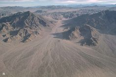Alluvial fan in southern Death Valley, CA.