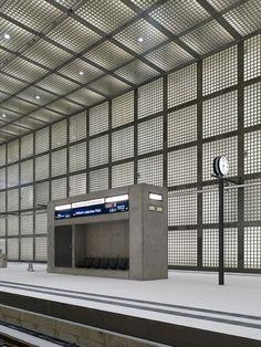 Max Dudler Architekt / Wilhelm-leuschner-Platz station / Leipzig / 2013