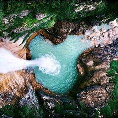 Cachoeira Santa Barbara vista de cima   Chapada dos Veadeiros