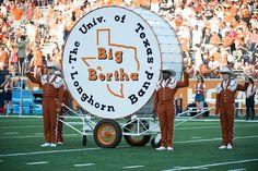 Big Bertha Texas State Capitol, University Of Texas, Blanton Museum, Texas Longhorns Football, Hook Em Horns, Big Bertha, Tailgating, College, Fan