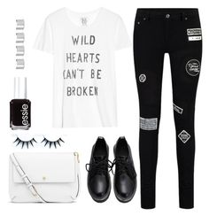 """""""Untitled #1504"""" by anarita11 ❤ liked on Polyvore featuring Zoe Karssen, Tory Burch, Essie and Maison Margiela"""