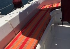 View Our Best Boat Bedding Package Examples & Fabric Choices Boat Bed, Best Boats, Boating, Choices, Photo Galleries, Stairs, Dreams, Sun, Interior