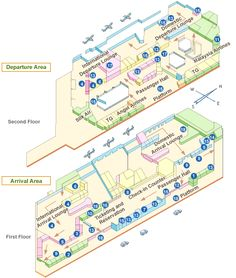 Chiang Mai Airport Terminal Map