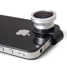 Gizmon Clip-On Lenses $35 - Fisheye, Circular Polarizer or the 3-Image Mirage filter. #iphone #gadget