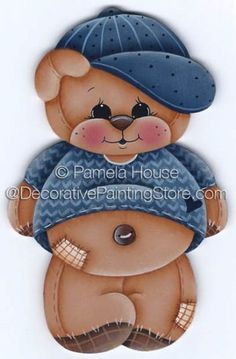 Cubby the Bear by Pamela House - PDF DOWNLOAD
