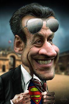 Nicolas Sarkozy Superman                                                                                                                                                                                 Plus