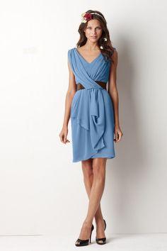 Grecian draped style