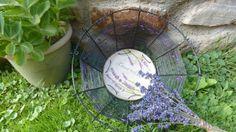 košík lavender