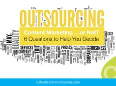 To Outsource Content Marketing …or Not? 6 Questions to Help You Decide