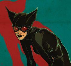 Catwoman by Melna.deviantart.com on @deviantART