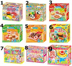 Pick any 6 Kracie Popin Cookin Japanese DIY candy Japanese Candy buy online Cheap Japanese Candy online Japanese candy making kits by KAWAIIAandA on Etsy https://www.etsy.com/listing/230067663/pick-any-6-kracie-popin-cookin-japanese