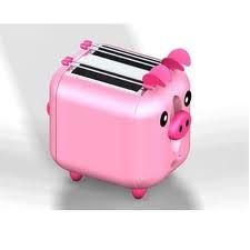 Pig Kitchen Island Seats 42 Best My Mommy Images On Pinterest Piglets Pigs And Pork Omg A Pink Piggy Toaster