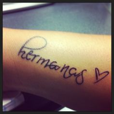 Tattoo sisters in spanish @amamiddleton