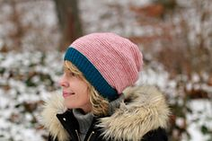Ravelry: My Cashmere Hat pattern by Plucky Knitter Design