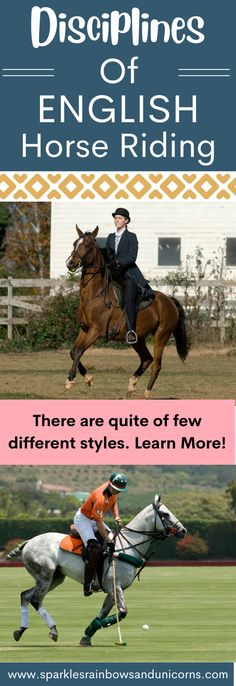 English and Western riding is only a general term. There are actually a bunch of different styles of English and Western riding. In this post I cover the different disciplines of English Riding. Discover the different English Riding options. You may find one you want to try.