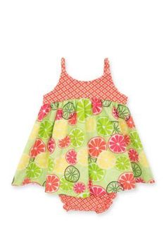 62147b6f6cf Counting Daisies by Rare Editions Fruit Slice Dress Toddler Girls Toddler  Girl Dresses
