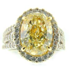 @indyfacets #indyfacets #canaryyellow #diamond #luxlife #engagementring #righthandring #carmelindiana