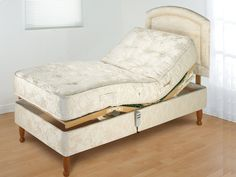 Furmanac 2ft 6 MiBed Anna Electric Adjustable Small Single Bed