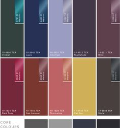 Image result for colour palette a/w 2018