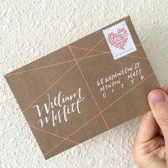 Addressing an Envelope With Jillian Schiavi Of Jilly Ink — Write_On