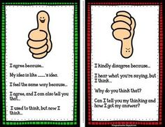 Math Talk Poster FREEBIE