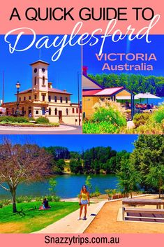 A Quick Guide to Daylesford - this Victorian town in Australia the delightful haven it is today and the ideal country retreat. It's a popular day trip or weekend stay from Melbourne, about 1.5 hours drive. Here is my quick guide for what to do in Daylesford. #daylesfordvictoria #daylesfordguide #daylesfordaustralia #snazzytrips